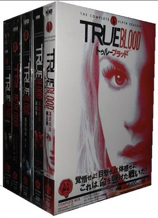True Blood / トゥルーブラッド シーズン1+2+3+4+5 コンプリート・ボックス(30枚組) [DVD]