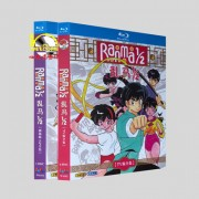 Ranma1/2 らんま1/2 TV全161話+劇場版+OVA 全巻 Blu-ray BOX