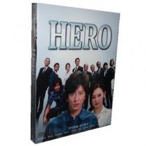 HERO DVD-BOX 7枚組 全11話(木村拓哉2014年)