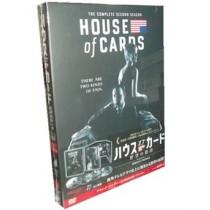 ハウス・オブ・カード 野望の階段 SEASON 2 DVD Complete Package
